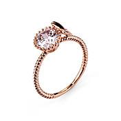 원형 다이아몬드 반지