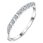 z&X® (1 pc) Rhinestone de los anillos transparentes de las mujeres de la moda