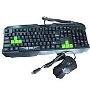 Sunway ciervos SWL-093 Gaming Keyboard and Mouse ®
