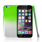 ikodoo® estuche rígido transparente pc gota de lluvia gotas de agua de colores para el iPhone 6 Plus