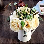 Seda Rosas / Margaritas / Fruta Flores Artificiales