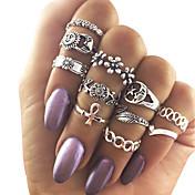Mujer Soporte del anillo Turquesa Diseño Único Cosecha joyería de disfraz Moda Legierung Joyas Para Fiesta Diario Casual