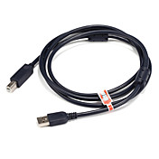 USB 2.0 케이블, USB 2.0 to USB 타입 B 케이블 Male - Male 1.5M (5 피트)