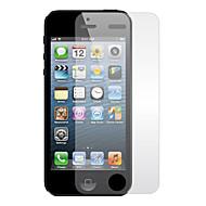 Átlátszó kijelzővédő törlőkendővel iPhone 5 készülékhez