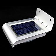 udendørs solenergi 16-ledede bevægelsesføler detektor sikkerhed haven lys lamper