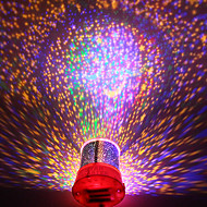 DIY Romantische Galaxy Sterrenhemel Projector Night Light voor Vier Kerstmis Festival