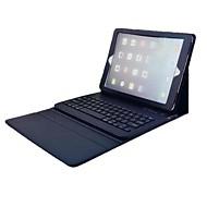 Kompatibilitás tokok Állvánnyal Billentyűzettel Flip Teljes védelem Case Tömör szín Kemény Műbőr Bőr mert iPad Air