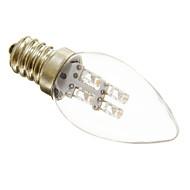 0.5W E12 LED-kynttilälamput C35 3 15-20 lm Lämmin valkoinen / Kylmä valkoinen Koristeltu AC 220-240 V