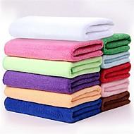 multifunktionelle Mikrofiberklud rektangulære hastighed tørt håndklæde (tilfældig farve)