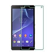 premium gehard glas scherm beschermende folie voor de Sony Xperia z3 mini m55w