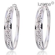 Žene Okrugle naušnice kostim nakit Kristal Imitacija dijamanta Legura Circle Shape Jewelry Za Party Dnevno