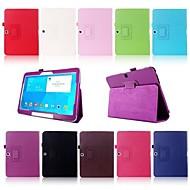 slimme folio pu lederen staan case cover voor Samsung Galaxy Tab 10.1 4 inch T530 T531 tablet