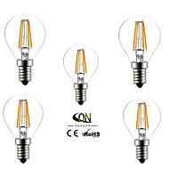 5 τμχ ONDENN E14 4 COB 400 LM Θερμό Λευκό G45 edison Πεπαλαιωμένο LED Λάμπες Πυράκτωσης AC 220-240 V