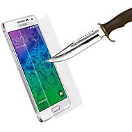 ultra-tynde anti-eksplosion ridsefast hærdet glas skærm vagt til Samsung Galaxy alpha g850