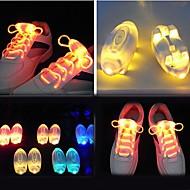 LED-kengännauhat Sininen/Punainen/Vihreä/Keltainen/Multicolor paristo W V)