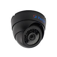 yanse® 1000tvl 2,8mm Kunststoff Innen-d / n CCTV-Kamera ir 24 geführt Kuppel verdrahtet 632cf