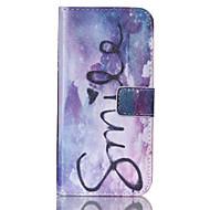 Mert Samsung Galaxy tok Kártyatartó / Pénztárca / Állvánnyal / Flip Case Teljes védelem Case Szó / bölcselet Műbőr SamsungS6 edge / S6 /