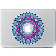 okrągłe naklejki dekoracyjne kwiaty 1 skóra powietrza MacBook / Pro / Pro z wyświetlaczem siatkówki