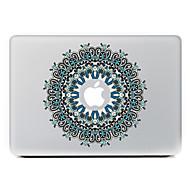 körkörös virág 21 dekoratív bőr matrica MacBook Air / pro / pro retina kijelző
