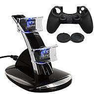 Baterie i ładowarki / Torby, futerały i skórki - PS4 - PS4 - # - PS4 - USB - Plastikowy - ( Akumulator )