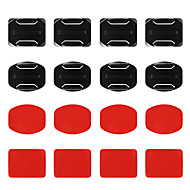Liima Flat Adhesive Pads Curved Adhesive Pads Kiinnitys All-in-one vartenKaikki Gopro 5 Gopro 4 Gopro 4 Silver Gopro 4 Session Gopro 4