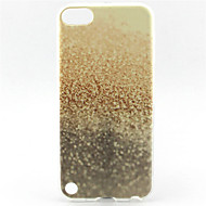 skinne sand maleri mønster TPU blød taske til iPod Touch 5
