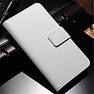 Varten Samsung Galaxy Note Lomapkko / Korttikotelo / Tuella / Flip Etui Kokonaan peittävä Etui Yksivärinen Tekonahka Samsung Note 4