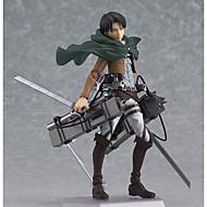 Anime Action Figures geinspireerd door Attack on Titan Eren Jager PVC 14 CM Modelspeelgoed Speelgoedpop