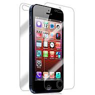 Enkay 0,26 mmol 9h 2.5d első és hátsó robbanásbiztos edzett üveg képernyővédő fólia iPhone 5 / 5s