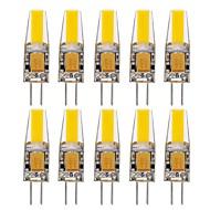 10 kpl g4 1505 kynttilä 1,5 w 150-200lm lämmin / viileä / luonnollinen valkoinen koriste-led-bi-pin valot