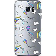 Για Samsung Galaxy S7 Edge Με σχέδια tok Πίσω Κάλυμμα tok Μπαλόνι Μαλακή TPU Samsung S7 edge / S7 / S6 edge plus / S6 edge / S6