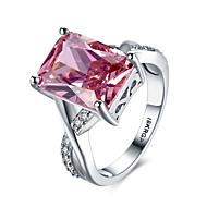 Žene Klasično prstenje Prstenje sa stavom Ruby Ljubav Moda Personalized kostim nakit Dragi kamen Plastika Zircon Dragulj Imitacija