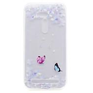 Dla asus zb551kl zb452kg wzór kwiatowy motyl wysoki przepuszczalność tpu materiał obudowa telefonu