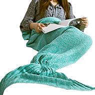 1 szt. Koc podróżny Zatrzymujący ciepło Nadający się do prania na Damskie Akcesoria podróżne do spania Akrylowy-Purple Czerwony Green