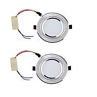 Alaspäin valaisevat LED-valaisimet Lämmin valkoinen / Kylmä valkoinen LED 2 kpl