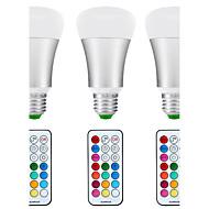 E26/E27 LED Λάμπες Σφαίρα A80 1 COB 1200 lm Φυσικό Λευκό RGB Αισθητήρας Υπέρυθρος Αισθητήρας Αδιάβροχη Με ροοστάτη Τηλεχειριζόμενο
