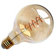 4W E26/E27 LED Λάμπες Πυράκτωσης G95 1 COB 400 lm Θερμό Λευκό Διακοσμητικό AC 220-240 V 1 τμχ