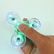 Fidget Spinners Przędzarka ręczna Zabawki Zabawki ABS EDCLampka LED Za czas zabicia Focus Toy Zwalnia ADD, ADHD, niepokój, autyzm Stres i