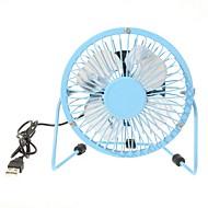 360-Grad-Drehung usb kleinen Ventilator Mini-Fan 4-Zoll-Aluminium-Studenten ultra-ruhigen USB-Lüfter