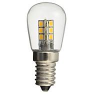 1W E14 Lâmpada Redonda LED 24 SMD 2835 50-99 lm Branco Quente Branco Decorativa AC110 AC220 V 1 pç