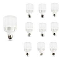 9W E27 LED Λάμπες Σφαίρα A70 10 SMD 2835 800 lm Ψυχρό Λευκό Διακοσμητικό AC 220-240 V 10 τμχ