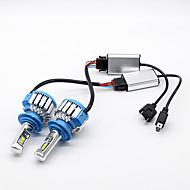 Philips 70w 7200lm h7 led lámpa fényszóró készlet autófény izzók 6000k white canbus