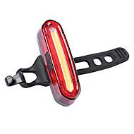 Cykellys Vandtæt bar endelys Baglygte til cykel baglygter LED - Cykling Genopladelig Vandtæt Lille størrelse Nemt at bære Lithium Batteri