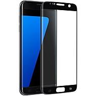 Edzett üveg Képernyővédő fólia mert Samsung Galaxy S7 edge Védőfólia Karcolásvédő 2.5D gömbölyített szélek Robbanásbiztos