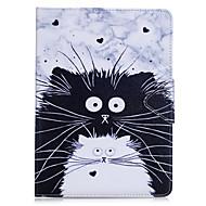 Case cover voor ipad pro 10.5 ipad (2017) kaarthouder portemonnee met tribune flip full body case kat hard pu leer voor ipad pro 9,7 air2