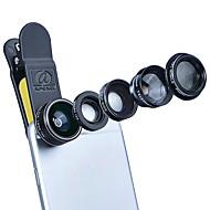 Aszune apl mobiele telefoon lens lens met filte 198 vis-oog lens 2x lange brandpuntslens 0.63x groothoeklens 15x macro lens