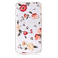 voor case cover ultra dun transparante patroon achterkant behuizing bloem zachte tpu voor Samsung Galaxy J7 (2016) j7 (2017) j7 v j7 perx