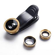 baiheng mobiele telefoon lens vis-oog lens 0.67x groothoek lens 15x macro lens aluminium legering glas voor Android-iPhone iPhone