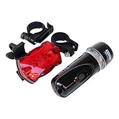 Bisiklet Ön Işığı / Bisiklet Arka Işığı LED Bisiklet Su Geçirmez / arka AAA Lümen Pil Bisiklete biniciliği-Aydınlatıcılar