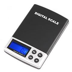 2000g/0.1g LCD kijelző Digtal Pocket elektronikus Scale